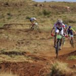Reinhard Zellhuber and Andrew Hill won the 86km fifth stage of the Lesotho Sky. Photo: Wayne Reiche/Lesotho Sky