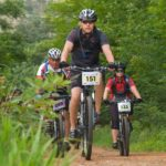 Mountain bikers in action during the Magalies MTB Adventure