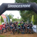 Anele Mtalana won the opening stage of the two-day Magalies MTB Adventure in Magaliesberg today. Photo: Facebook/Magalies Adventure