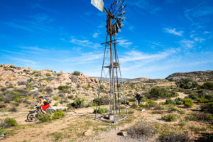 Namaqua Quest MTB Stage Race stage one windmill