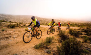 Namaqua Quest MTB Stage Race stage one riders action