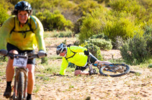 Namaqua Quest MTB Stage Race stage one rider down