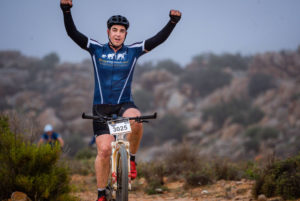 Namaqua Quest MTB Stage Race stage one rider