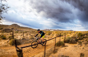 Namaqua Quest MTB Stage Race stage two clouds