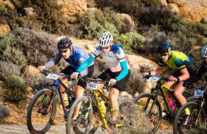Namaqua Quest MTB Stage Race stage two riders action