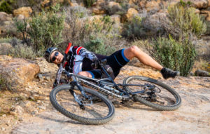Namaqua Quest MTB Stage Race stage two rider down