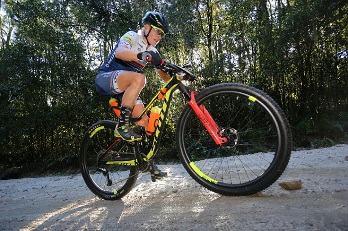 South African Robyn de Groot will compete in the elite women's race at the UCI MTB Marathon World Championships