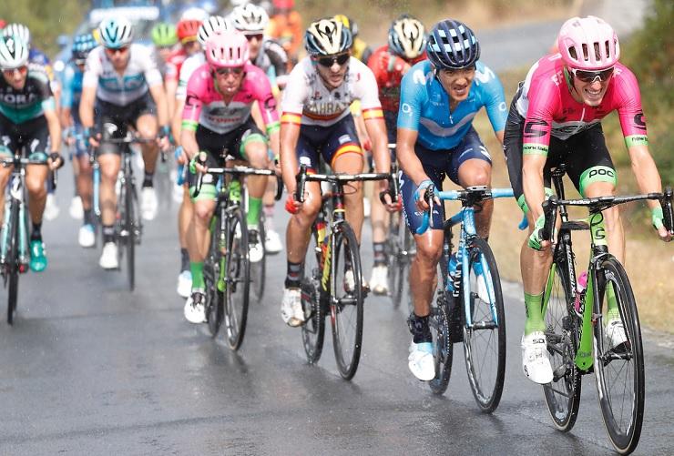 AG2R La Mondiale's Alexandre Geniez sprinted to victory on stage 12 of the Vuelta a Espana today. Photo: Luis Ángel Gómez