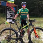 "South African Willem le Roux has embraced his opportunity to gain ""as many UCI points as possible"" while racing in one of the world's mountain-bike capitals, Switzerland. Photo: Supplied"