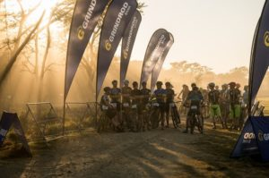 Riders awaiting the start of stage three of the Berg and Bush 'Descent'. Photo: Em Gatland/Nikon