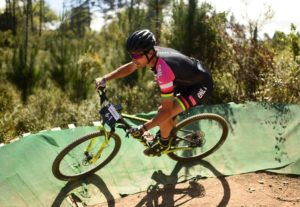 A rider taking on a bend during stage three of the Cape Pioneer Trek. Photo: Carli Smith