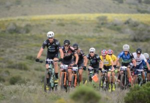The elite men teams in action during stage two of the Cape Pioneer Trek. Photo: Carli Smith