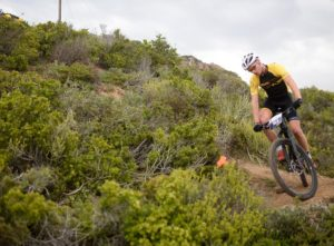 A rider taking on a bend during the prologue of the Cape Pioneer Trek. Photo: Zoon Cronje