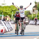 South African national road champion Carla Oberholzer (pictured) dedicated her Amashova Durban Classic victory today to her Demacon teammate Lynette Burger. Photo: The Digital Media Collective