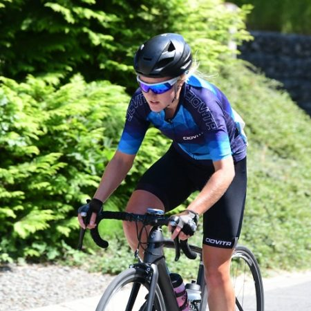 Elne Owen, 19, has reached the semifinals of the Canyon-SRAM/Zwift Academy