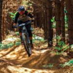 """Frankie du Toit (pictured) said she was """"stoked"""" to win the women's category of the SA Enduro Championships at the weekend. Photo: Alan Richert"""