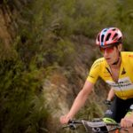 Philip Buys and Matthys Beukes (pictured) won the 97km fifth stage of the Cape Pioneer Trek in Oudtshoorn today. Photo: Carli Smith