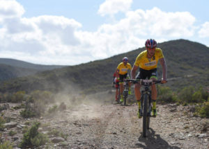 Matthys Beukes and Philip Buys stage six Cape Pioneer Trek