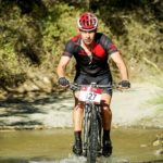 Neill Clark, pictured here on his bike two years ago, won the 70km feature race of the Tsitsikamma MTB Challenge, which took place in Eastern Cape yesterday. Photo: Jacques Marais/Pentax