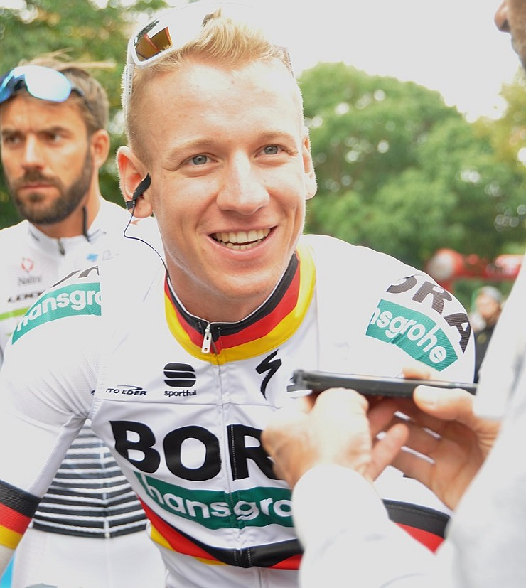 Bora-Hansgrohe's Pascal Ackermann won stage two of the Tour of Guangxi