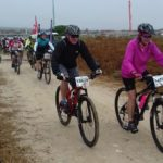 Riders in action during the Langebaan Country Estate MTB Funride today. Photo: Facebook/LCE Cycle Challenge