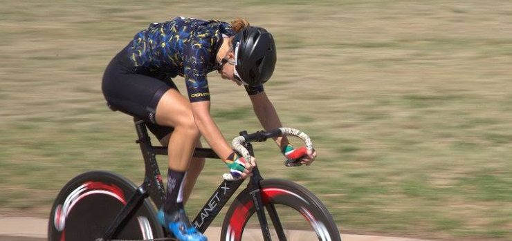 Maroesjka Matthee (pictured) was dominant in the elite women events at the Joburg Grand Prix. Photo: Cycle Nation
