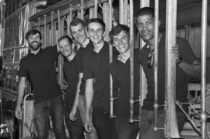 Some of the team's members pictured at a recent photo shoot (from left) Steven van Heerden, David Maree, Bradley Potgieter, Henry Neethling, Ruben van der Merwe and Nolan Hoffman. Photo: Wayne Hanscombe