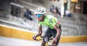 SA National Track Championships rider pushes hard