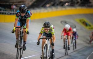 SA National Track Championships youth cyclists