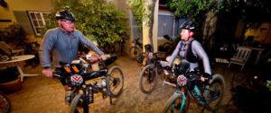 The Munga day three riders posed