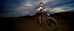 The Munga day two female rider