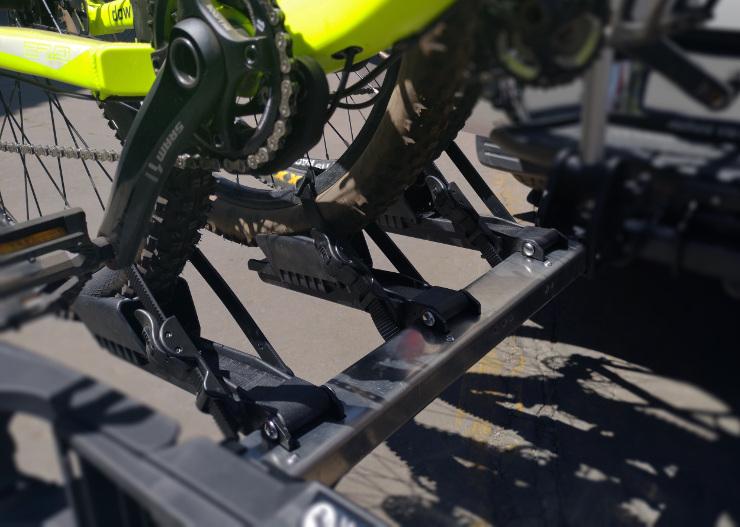 Westfalia bike rack
