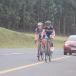 Chris Jooste (left) beat Alexander Worsdale (right) two-man sprint finish on stage six of the Mpumalanga Tour today. Photo: Helen Beneke
