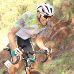 Eddie van Heerden in action during the Gauteng Provincial Road Champs road race yesterday. Photo: Supplied
