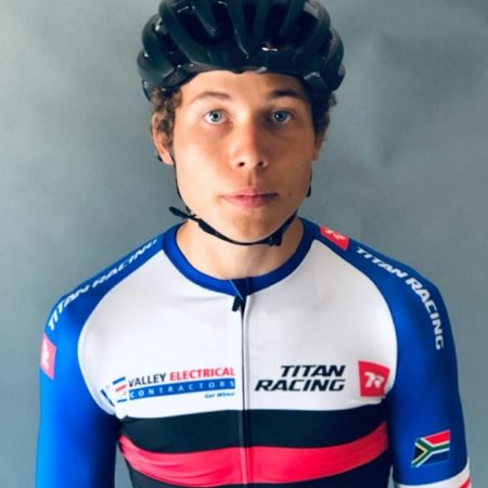 Teenager Rossouw Bekker (pictured) has launched a South African multi-discipline cycling team, Valley Electrical-Titan Racing, where he will serve as both rider and manager. Photo: Supplied
