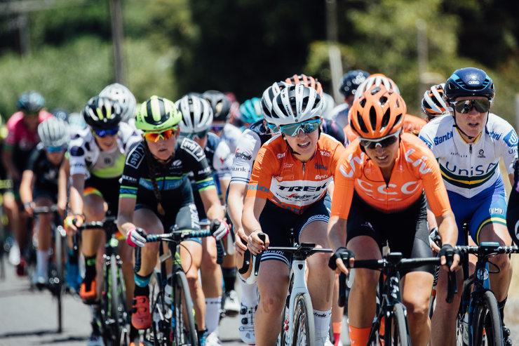 Ashleigh Moolman Pasio stage two Women's Tour Down Under stage two