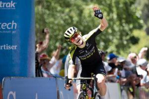 Grace Brown stage three winner Women's Tour Down Under