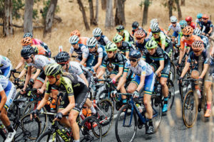Womens Tour Down Under stage one action