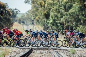 Women's Tour Down Under stage three route