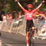 Ashleigh Moolman Pasio won the elite women's road race at the South African road championships