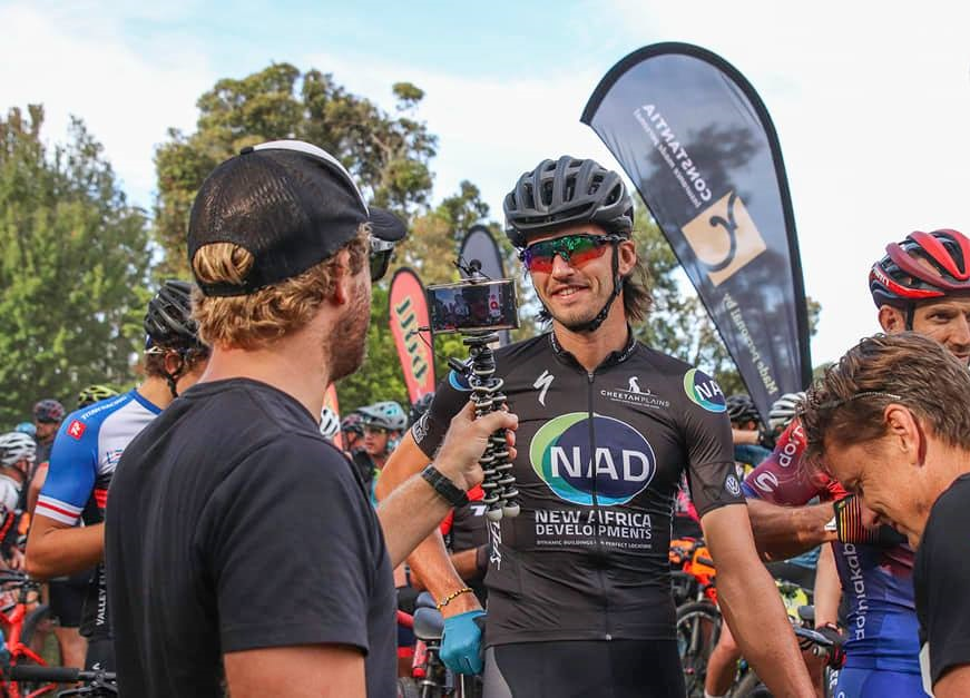 Matt Beers was crowned the men's champion at the Knysna Bull