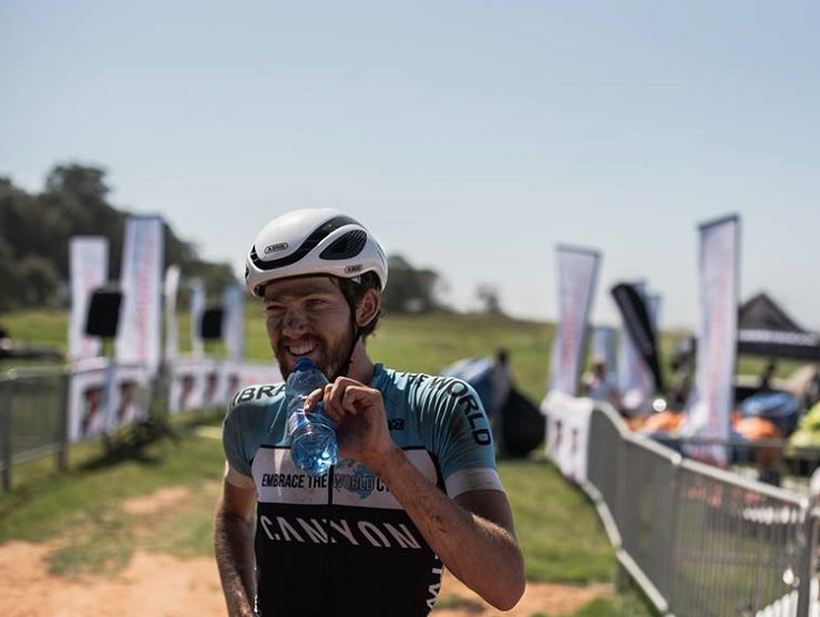 Robert Hobson, pictured here at the PE Plett last week, has his sights set firmly on victory at the four-day Knysna Bull which starts tomorrow. Photo: Rory Scheffer
