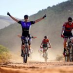 Mountain-bikers enjoying the ride during the TransCape MTB Encounter. Photo: Jacques Marais