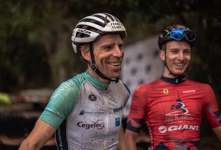 Belgian Frans Claes (left) says he and HB Kruger (right) are looking to maximise their efforts at the Cape Epic, which starts this weekend. Photo: Rory Scheffer