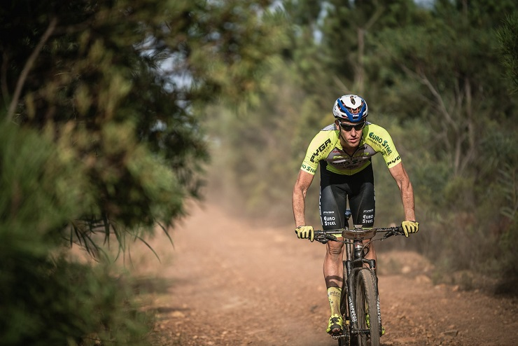 PYGA Euro Steel's Matthys Beukes (pictured) and Philip Buys won the queen stage of the Cape Epic