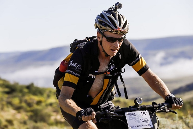 Mike Woolnough in action during the Race to Cradock
