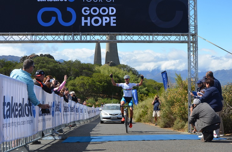Marc Pritzen wins Tour of Good Hope
