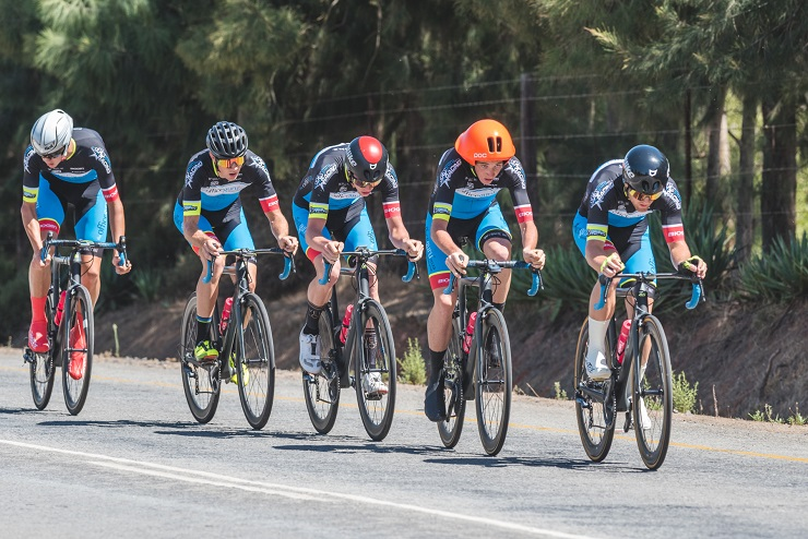 The OfficeGuru Racing outfit took the honours in the 26.5km team time-trial on the third day of the Takealot Tour of Good Hope