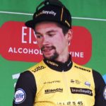 Jumbo-Visma's Primoz Roglic, pictured here at the Tour of Britain last year, won the 180km sixth stage of the UAE Tour in Jebel Jais today. Photo: Photo credits