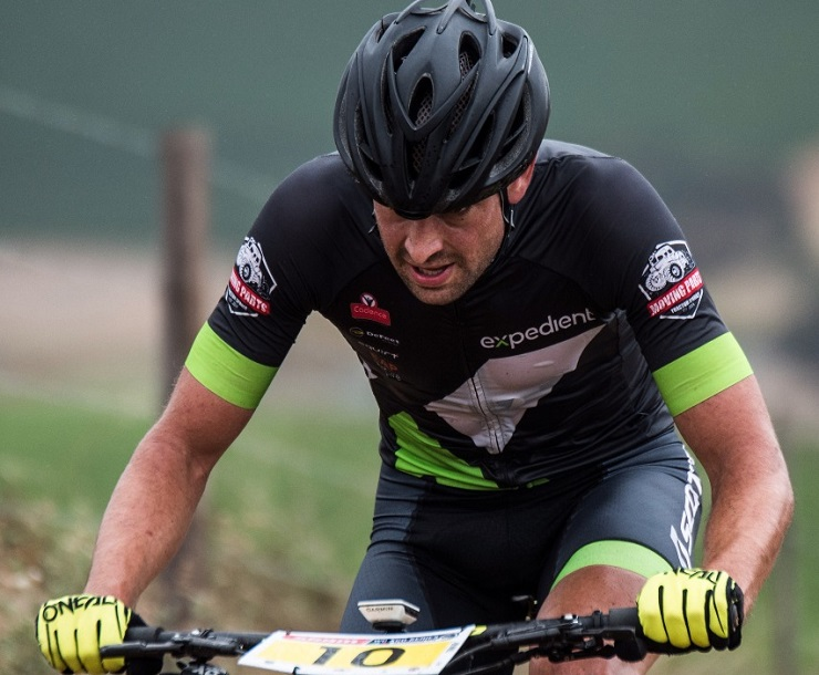 Stuart Marais (pictured) won the 40km feature race of the Howick MTB Classic yesterday. Photo: Gustav Klotz